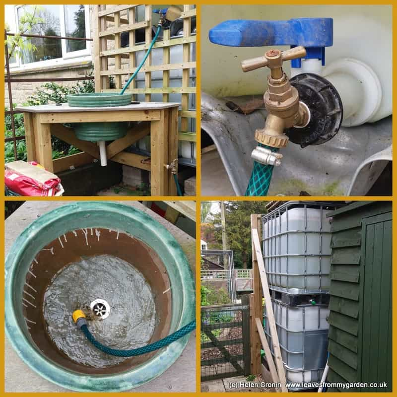 Garden sink details
