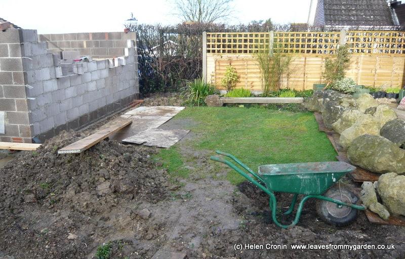 The proposed area for the Norwegian garden in Dorset