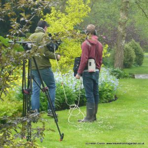 Lion TV Filming at Longstock for Big Dreams Small Spaces, The Norwegian Garden in Dorset inspiration day